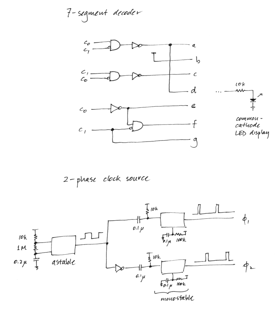 Digital Logic Using 555 Chips Ne555 Circuit Projects